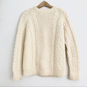 Vintage Fishermen Cable Knit Sweater